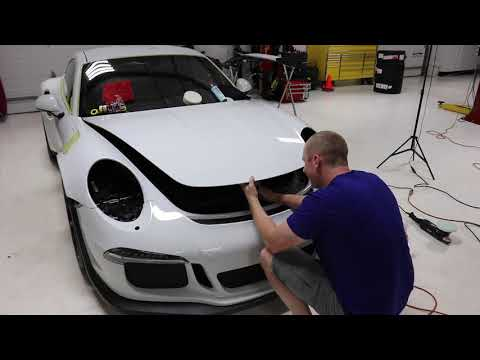 Epic GT3 RS Detail at Esoteric: E8 Compounding Hood with Surbuf | M100