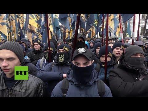 Nacionalistas de Ucrania exigen romper relaciones diplomáticas con Rusia