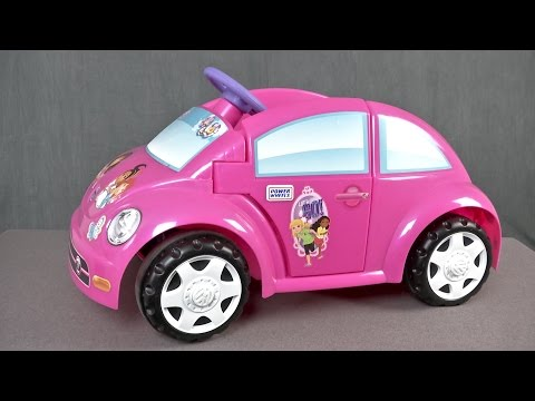 Power Wheels Dora & Friends Volkswagen New Beetle from Mattel