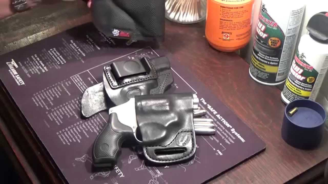 S&W 642 J Frame Holsters by Tagua & The Holster Store