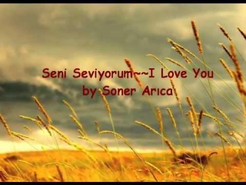 """Soner Arıca """"Seni Seviyorum"""" with English Subtitles"""