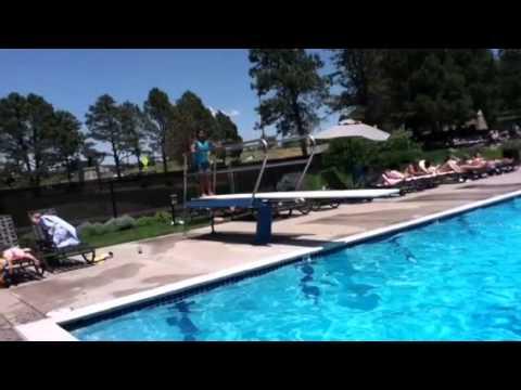 Diving Board Tricks 2013 Youtube