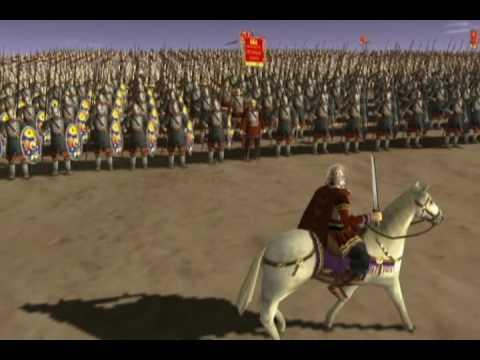 Romans vs Persians Battle - YouTube