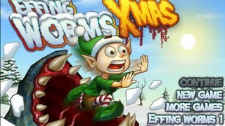 Effing Worms -- Xmas-Walkthrough