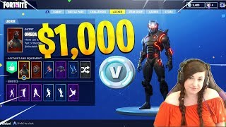 $1000 Fortnite Locker Showcase! 50+ SKINS! Max Omega, Max Carbide (Fortnite Rare Skin Showcase)