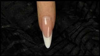 Step-By-Step Tutorial to Sculpting Classic Almond Nails from Gel - Official Crystal Nails Technique