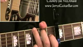 How To Play Country Joe McDonald Fixin