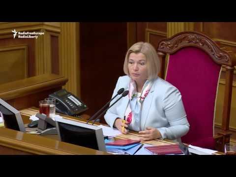 Ukrainian Parliament Rejects Russia's Crimea Vote