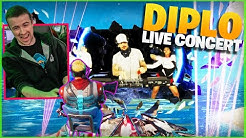 OLD MAN CHAPERONES FORTNITE PARTY ROYALE CONCERT ft. DIPLO!