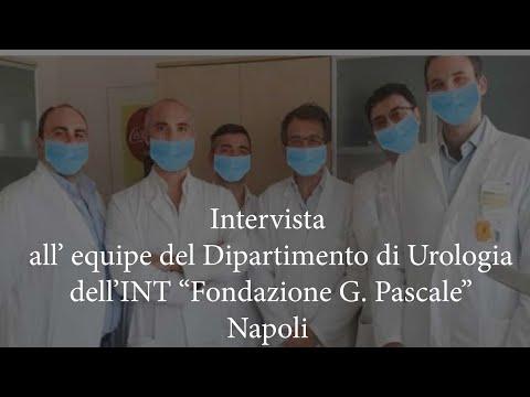 Intervista all'equipe del dipartimento di urologia del Pascale di Napoli