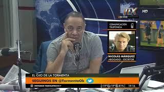 Nicolás Marquez (Abogado y Escritor) en El ojo de la tormenta junto a Gustavo Mura