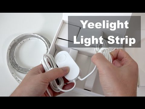 Xiaomi Yeelight Smart LED Light Strip Unboxing & Testing