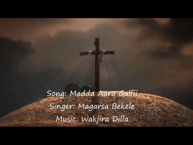 OROMO GOSPEL SONG INSTRUMENTAL(MADDA AARA GALFII)