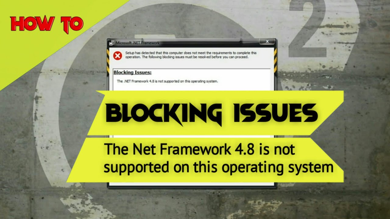 Not able to install .net Framework 20.20 onwards version ...