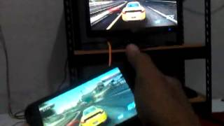 NFS Most Wanted di IMO S88 dengan TV Out