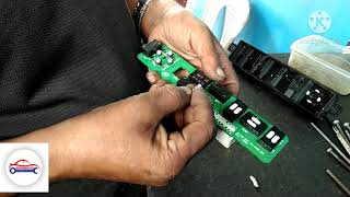 Hyundai Santa Fe seat switch repair. How to repair a car's seat switch? Seat switch repair video.