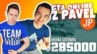GTA ONLINE PS4 PRO - PAVEL LUCEK I BERBERT NA NAPADZIE  :D