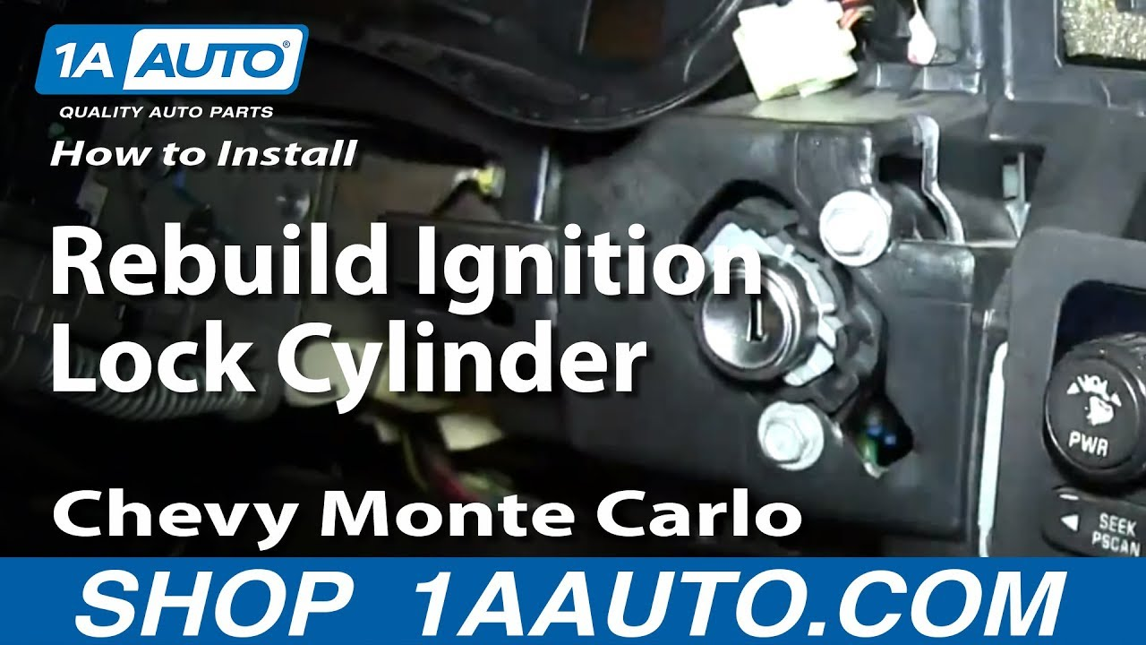 How to Rebuild Ignition Lock Cylinder 00-05 Chevy Monte Carlo