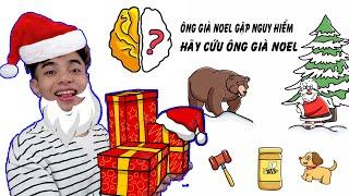 Brain Out Phần 10 | ThắnG Tê Tê Giải Cứu Ông Già Noel