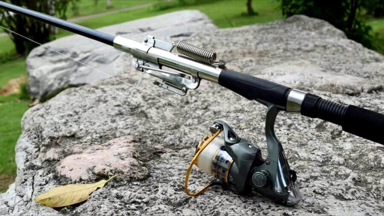 Рыбалка на спиннинг, самоподсекающая удочка fishergoman, телескопическая удочка спиннинг