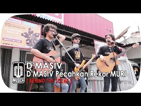 D'MASIV Pecahkan Rekor MURI | BTS Part 3