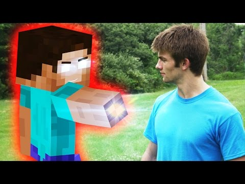 Minecraft In Real Life | Herobrine Attack