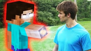 Minecraft In Real Life   Herobrine Attack
