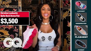 Saweetie Shows Off Her Favorite Sneakers, From Rarest to Sexiest   GQ