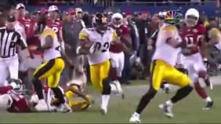James Harrison 100 yard interception Great Quality