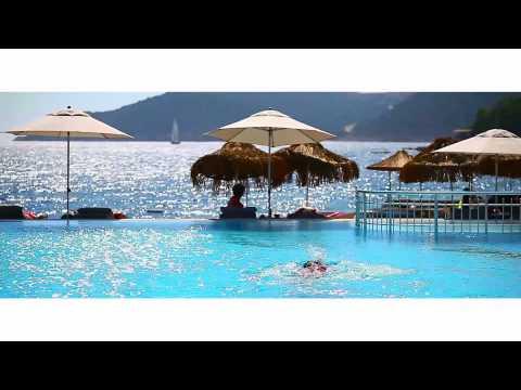 The Doria Hotel Kas. Luxury beach hotel in Turkey.