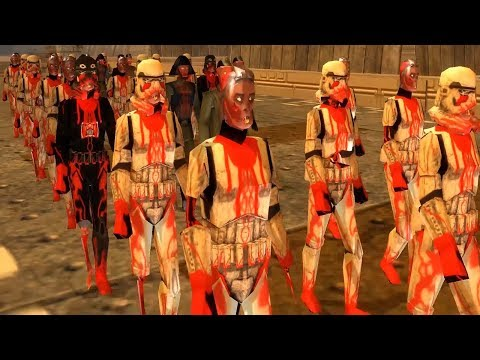 GALAXY OF THE DEAD - Star Wars Empire at War DEATHTROOPERS MOD