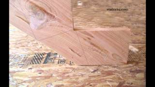 How To Attach Wood Stair Stringer To Concrete And Wood Floors