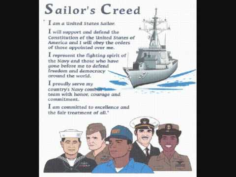 sailors creed
