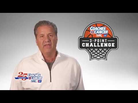 Coaches vs. Cancer John Calipari 3-Point Challenge Video
