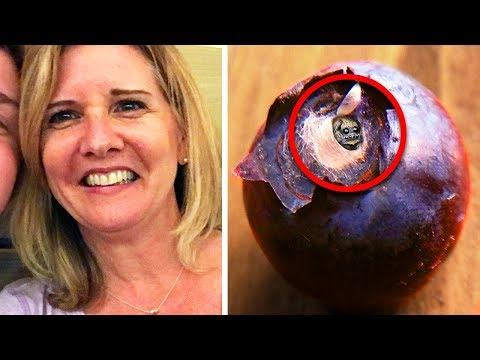 Woman Finds Something In Her Blueberry – Gets Sick To Her Stomach When She Finds Out What It Is