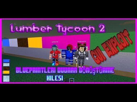 LUMBER TYCOON 2 HACK/SCRIPT | AUTO BLUEPRINTS | PINK WOOD | MORE !! *2019*  // Roblox // MAA