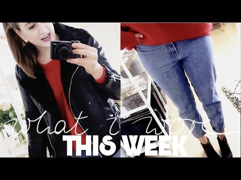 1 WOCHE, 6 OUTFITS | What I Wore This Week