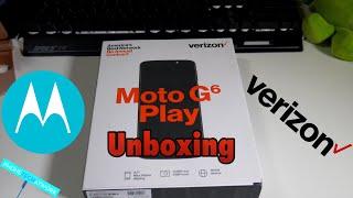 Moto G6 Play Verizon Prepaid Variant! I