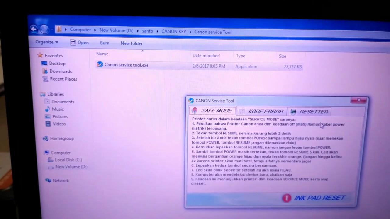canon service tool v4905 keygen download