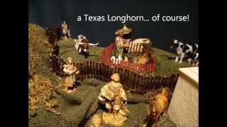 LeBlanc Family Nativity Scene  2012