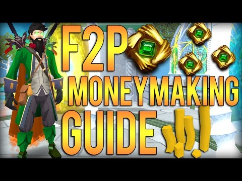 RuneScape 3: LOW LEVEL F2P MONEYMAKING GUIDE! 1M / Hour!