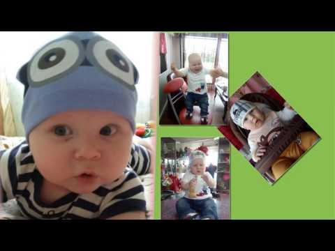 День Рождение Артема - внуку 1 год