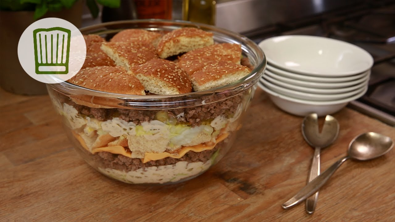 big mac salat rezept chefkoch youtube. Black Bedroom Furniture Sets. Home Design Ideas
