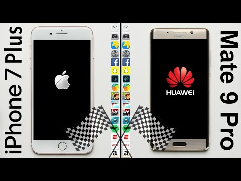 iPhone 7 Plus vs. Huawei Mate 9 Pro Speed Test