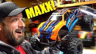 NEW RELEASE - TRAXXAS MAXX 1/10 SCALE TRUCK : UNBOXiNG & FiRST THOUGHTS!   RC ADVENTURES