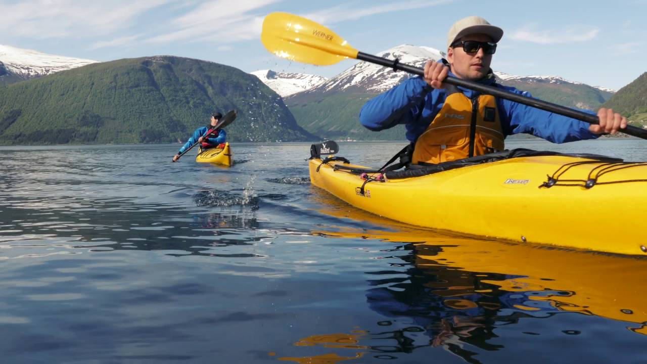 Kayaking in Valldal