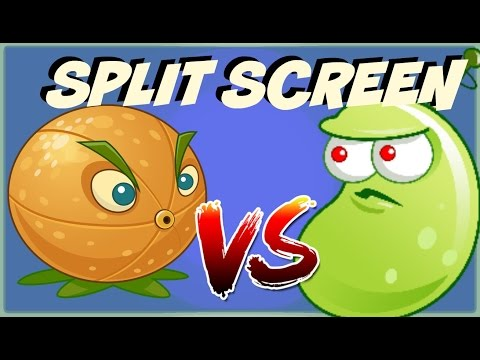 Plants vs Zombies 2 Epic Hack : Split Screen Ultimate Ultimate Power Up - Citron vs Laser Bean
