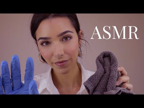 ASMR Relaxing Spa Skin Treatment & Facial