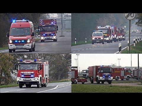 [Katastrophenalarm] Einsatzfahrten der Feuerwehren aus dem Landkreis Wittmund