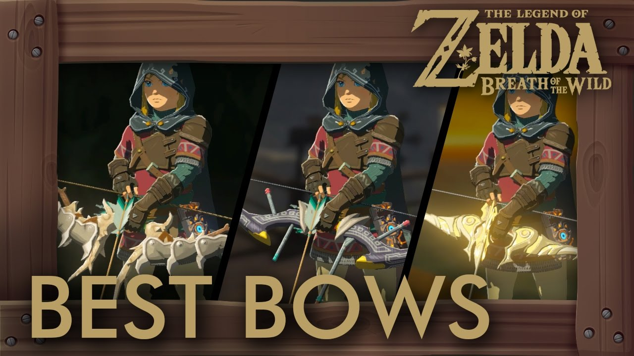 Zelda Breath of the Wild Best Bows - Where to Find the Best